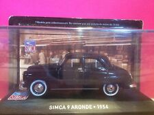 SUPERBE SIMCA 9 ARONDE 1954 1/43 NEUF SOUS BLISTER M6