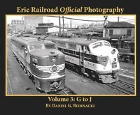 ERIE RAILROAD Official Photography, Vol. 3 - G to J -- (NEW BOOK)