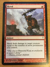 MTG 1x Skred Instant Red Mountain Coldsnap Set Magic the Gathering Card