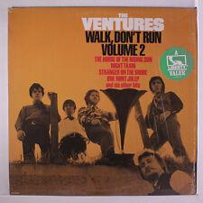 VENTURES: Walk, Don't Run Vol. 2 LP (abridged reissue, shrink) Oldies