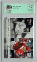 Shohei Ohtani 2018 Topps Now #MOW-18 Babe Ruth, 3,476 Made Rookie Card PGI 10