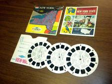 NEW YORK (A650) Viewmaster 3 reels PACKET SET vintage