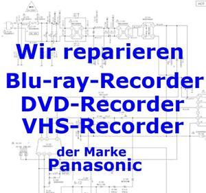 Reparatur Netzteilplatine aus Panasonic Blu-ray DMR-BST750 BCT750 BST850 BCT850