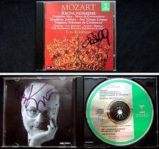 Ton KOOPMAN & E.  VON MAGNUS Signiert MOZART Krönungsmesse Exsultate Jubilate CD
