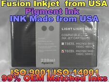 Compatible Cartridge Epson Stylus Pro 7880 9880 T6039 light light black llk ink