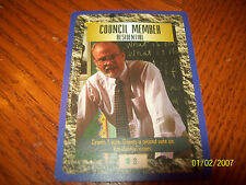SIM CITY CCG COUNCIL MEMBER RESIDENTIAL PROMO CARD