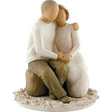 Willow Tree - Anniversary Cake Topper - by Susan Lordi -  Enesco