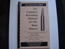 8mm Mauser 7.92mm The Complete Reloading Manual Load Books Latest Version
