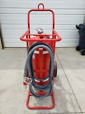 Amerex B674 Halotron Wheeled Fire Extinguisher Safety Rescue 150 Lbs Airport