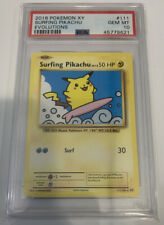 PSA 10 GEM MINT SURFING PIKACHU Pokemon XY Evolutions 111/108