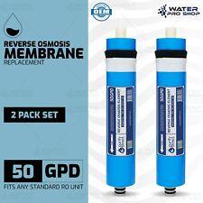 Reverse Osmosis Membrane – RO Membrane 50 GPD Water Filter Replacement – 2 Pack