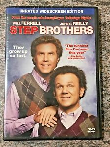 Step Brothers (DVD, Unrated, 2008 Will Ferrell Film) BRAND NEW / FACTORY SEALED