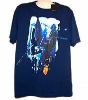 Bugatchi Blue Egsotic Design Cotton Men's T- Shirt Shirt Size XL NEW