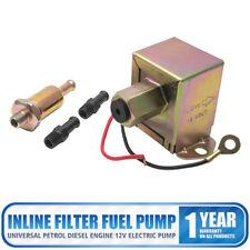 12V Universel Filtre Pompe à Carburant Essence Diesel Moteur Électrique Pompe