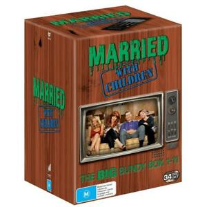 Married With Children The Big Bundy Season 1 - 11 DVD Box Complete Collection R4
