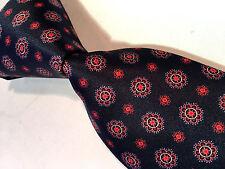 NWT$220 Brioni Multi-Color  Satin Silk  Made In Italy