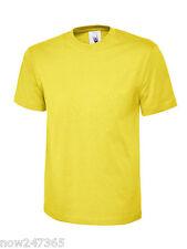 Mens Plain T-Shirt Size XS to 6XL 100% Cotton Soft Premium Classic Fit
