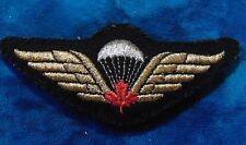 Canadian CANADA Airborne OSONS Para Paratrooper dress uniform jump wings badge D