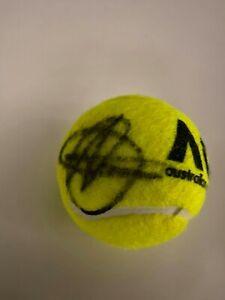 Signed Tennis Ball - Novak Djokovic.