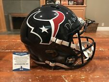 Deshaun Watson Autographed Houston Texans Full Size Speed Helmet Beckett