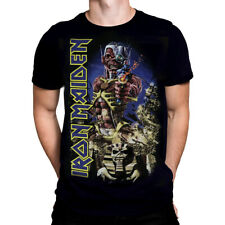 Official Iron Maiden Somewhere Back In Time T-Shirt Fear Of The Dark Seventh Son