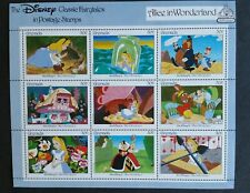 Grenada 1987 Mint Sheet Disney - Alice In Wonderland Coa