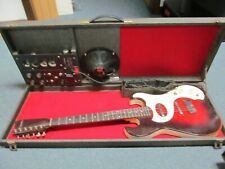 Silvertone 1964 Danelectro Silvertone Sears amp in case 1457