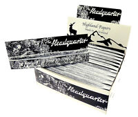 Highland Headquarters King Size Rolling Papers & Tips
