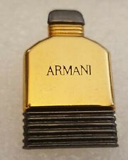 PIN'S ANCIEN PIN ARMANI NON YSL CHANEL CHRISTIAN DIOR PARFUM SUPERBE