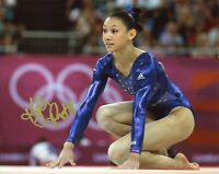 "~~ KYLA ROSS Authentic Hand-Signed ""Olympic Gymnast UCLA"" 8x10 photo B~~"