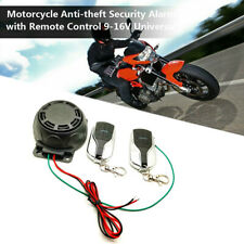 Bike Motorcycle Alarm System Anti-theft Security Remote Engine Start Immobili FD