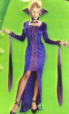 VIOLET VAMPIRE Adult Large (12-14) Women SEXY  Halloween costume