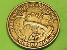 Nascar large bronze Collector's  Medallion..combine shipping save$$