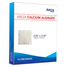 """Calcium Alginate 4.25"""" x 4.25"""" Sterile Box of 10"""
