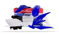 POLISPORT KIT PLASTICHE COMPLETE MX ENDURO BLU BIANCO YAMAHA YZ 250 F 2010-2013