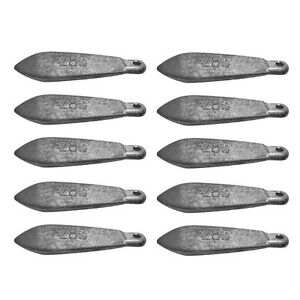 Snapper Reef Deep Sea Fishing Sinkers Lead TACKLE Several Sizes Available