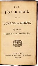 FIELDING - The Journal of a Voyage to Lisbon - FIRST PUBLISHED EDITION