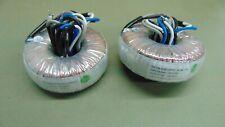 Pair Eaglerise Electric 3at12870 01 Audio Toroid Transformer 8 Ohm To 70 Volt