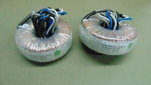 Pair Eaglerise Electric 3AT128/70-01 Audio Toroid Transformer 8 ohm to 70 volt