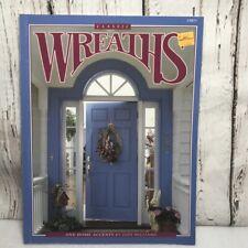 Classic Wreaths Floral book instruction Centerpiece birdhouse basket home accent