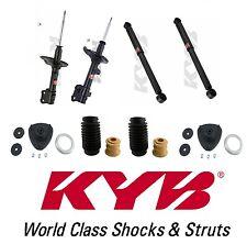 4-KYB Struts Shocks Front Mounts Dust Boots 2-Front & 2-Rear for MDX Pilot