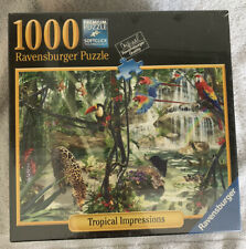 Ravensburger 1000 Piece Jigsaw Puzzle Sealed - Tropical Impressions