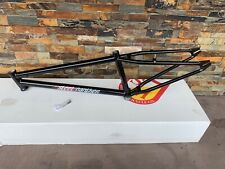 "S&M BIKES 24 INCH STEEL PANTHER RACE FRAME GLOSS BLACK 21.5 21.5"" SPEED WAGON"