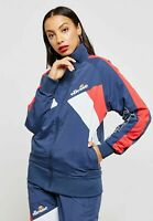 Ellesse Womens Track Top Jacket Navy Blue Tonalito 16uk RRP £60 New