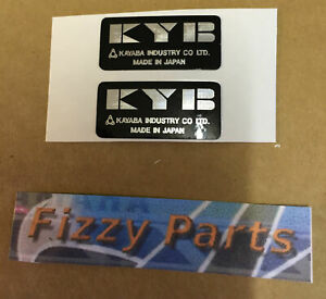 YAMAHA FS1-E FIZZY FS1 FS1E SS  KYB FORK & SHOCK  DECALS x 2