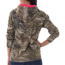 Realtree Max-1 XT Camo Hoodie Women Pullover Camouflage Sweatshirt Pocket Large