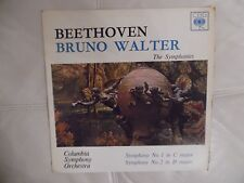 BEETHOVEN BRUNO WALTER THE SYMPHONIES COLUMBIA SYMPHONY ORCHESTRA 1959 BRG 72056
