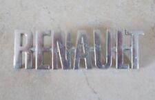 RENAULT France insigne mascotte emblème plaque badge voiture auto 1970s