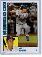 Will Smith 2019 Topps Update 1984 Topps 5x7 #84-37 /49 Dodgers