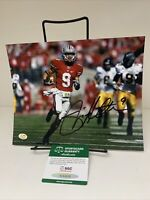 Ohio State Buckeyes Brian Hartline 8x10 Autographed Photo With SGC COA